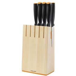 Fiskars Zestaw 5 noży w bloku 1014211 (6424001026373)