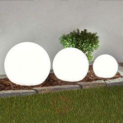 3-cz. zestaw kulistych lamp solarnych LED Lago (4251096525168)