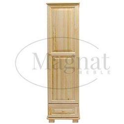 Szafa drewniana 1d nr1 wieszak marki Magnat - producent mebli drewnianych i materacy