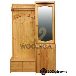 Garderoba 124x200 lewostronna marki Woodica