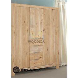Szafa dębowa vernalis 04 3d+4s marki Woodica