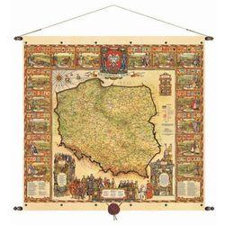 Rzeczpospolita Polska mapa ścienna 97x92,5 cm Pergamena - produkt dostępny w ArtTravel.pl