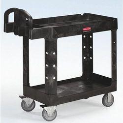 Uniwersalny wózek stołowy z tworzywa, z wgłębieniem wannowym, dł. x szer. x wys.