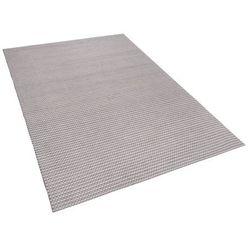 Dywan jasnoszary 160 x 230 cm krótkowłosy kilis marki Beliani