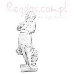 Figura ogrodowa betonowa Kobieta z bukietem 122cm