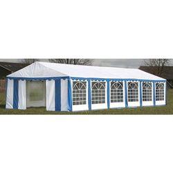 pawilon ogrodowy 12x6m (dach+panele boczne), niebiesko-biały marki Vidaxl
