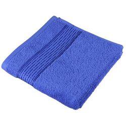 ręcznik kąpielowy kamilka pasek ciemnoniebieski od producenta Bellatex