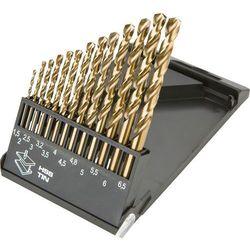 Zestaw wierteł do metalu GRAPHITE 57H198 HSS-TiN 1.5 - 6.5 mm (13 elementów) - oferta (05d9deacaf13c643)