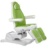 Beauty system Elektryczny fotel kosmetyczny mazaro br-6672c zielony