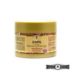 MASKA DO WŁOSÓW ŁOPIANOWA WZMACNIAJĄCA 300 ml - RECEPTURY BABCI AGAFI - AGAFI (odżywianie włosów)
