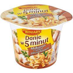 WINIARY 50g Danie w 5 Minut Makaron z sosem pieczarkowym