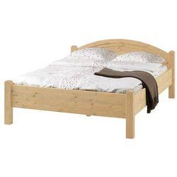 SAMSOE 140 pogrubiane łóżko sosnonwe