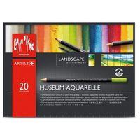 Kredki caran d'ache museum aquarelle 20 kolorów landscape marki Caran d