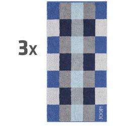 JOOP! ręczniki Plaza Azur, 50 x 100 cm, komplet 3 szt., 3 szt. 50 x 100, kup u jednego z partnerów