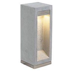 Nowoczesna lampa zewnętrzna szara 40cm - Sneezy