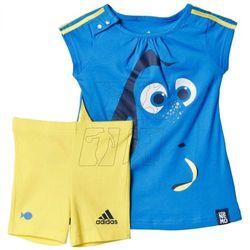Komplet  disney dory summer set kids ak2542, marki Adidas