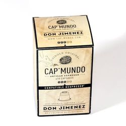 Kapsułki nespresso cap'mundo don jimenez 10szt. od producenta Single origins s.a.