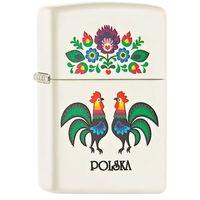 Zapalniczka ZIPPO Folk Rooster, White Matte (60001804) - produkt z kategorii- Zapalniczki