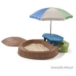 STEP2 Piaskownica ze stolikiem i parasolem (0733538843794)