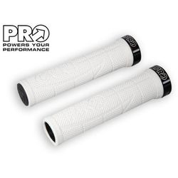 PR372082 Chwyty kierownicy PRO XCR 130 mm, białe, czarne klamry - oferta [1579eb0e3142b5c1]