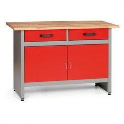 Stół roboczy z szufladami i szafkami (8595004158007)