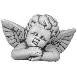 Figura ogrodowa betonowa aniołek 14cm