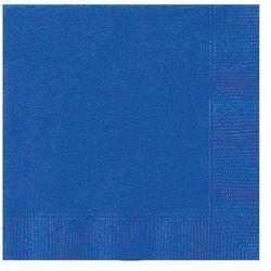 Serwetki niebieskie - 33 cm - 20 szt. z kategorii Gadżety
