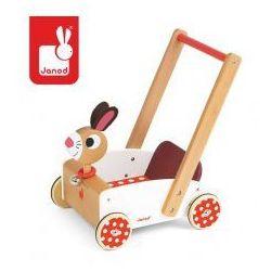 Pędzący Królik wózek chodzik - Janod z kategorii Pozostałe dla dzieci