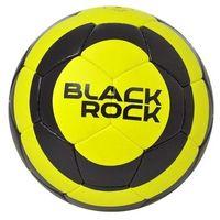 Piłka nożna rekreacyjna axer black rock yellow - żółty ||czarny marki Axer sport