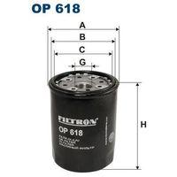 Filtr oleju op 618, marki Filtron