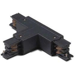 Łącznik typu T prawy dla szyny 3-fazowej czarny oferta ze sklepu lampyiswiatlo.pl