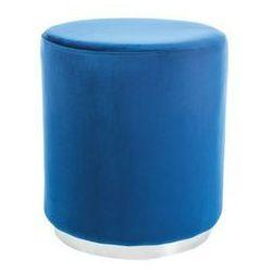 pufa Furla Silver Granatowa, kolor niebieski