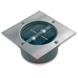 Ranex Punktowa lampa solarna, kwadratowa, 0,12 W, srebrna 5000.198 (8711387093753)