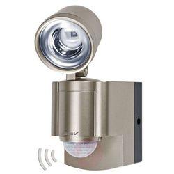 Reflektor led z czujnikiem ruchu gev 014800, 1x3 w, led wbudowany na stałe, 140 lm, 5300 k, ip44 marki Gutkes