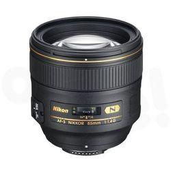 af-s nikkor 85 mm f/1,4g - produkt w magazynie - szybka wysyłka! od producenta Nikon