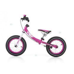 Milly-mally Rowerek biegowy young róż #b1