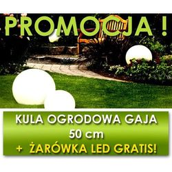 Ledart Kula ogrodowa gaja 500/s + żarówka e27 gratis