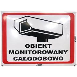 TABLICA OBIEKT MONITOROWANY 6586