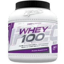 Trec Whey 100 - 2275g - czekolada wiśnia - produkt z kategorii- Odżywki białkowe