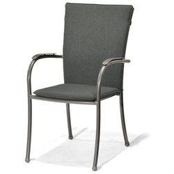 Krzesło ogrodowe z poduszką Nova grey - sprawdź w wybranym sklepie