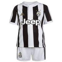 adidas Performance JUVENTUS TURIN HOME SET Krótkie spodenki sportowe white/black, kolor biały