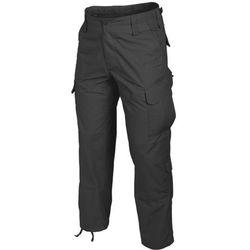 spodnie Helikon CPU PoliCotton Ripstop czarne LONG (SP-CPU-PR-01), spodnie męskie HELIKON-TEX / POLSKA