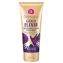Dermacol Gold Elixir Rejuvenating Caviar Hand Cream 75ml W Krem do rąk z kategorii Kremy do rąk