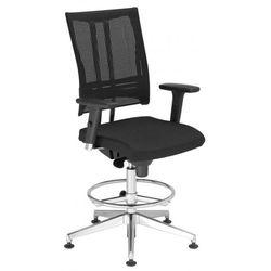 Krzesło obrotowe @-MOTION r18k steel33 chrome ring base - biurowe, fotel biurowy, obrotowy, -MOTION R18K steel33 chrome Ring Base