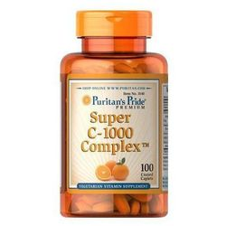Super C-1000 Complex / 100 tab PURITAN'S PRIDE - tabletki witaminy i minerały