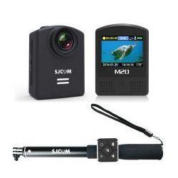 Kamera sportowa SJCAM M20 + monopod + pilot Bluetooth z kategorii Kamery sportowe