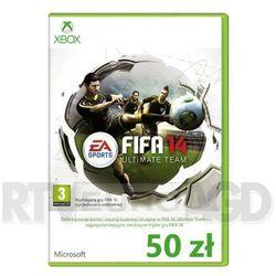 FIFA 14 Ultimate Team Xbox Live 50 PLN z kategorii Kody i karty pre-paid