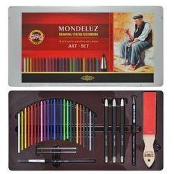 Zestaw sztyftów akwarelowych Mondeluz Art-Set - 24kol.