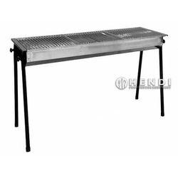 Hendi grill na węgiel drzewny resto   3 x 345x345mm   1130x380x(h)760mm - kod product id