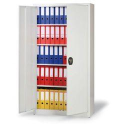 Metalowa szafa półkowa - spawana, 1950x1200x400 mm, 4 półki marki B2b partner